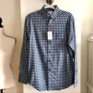 NWT Peter Millar Button Down Shirt. Size S